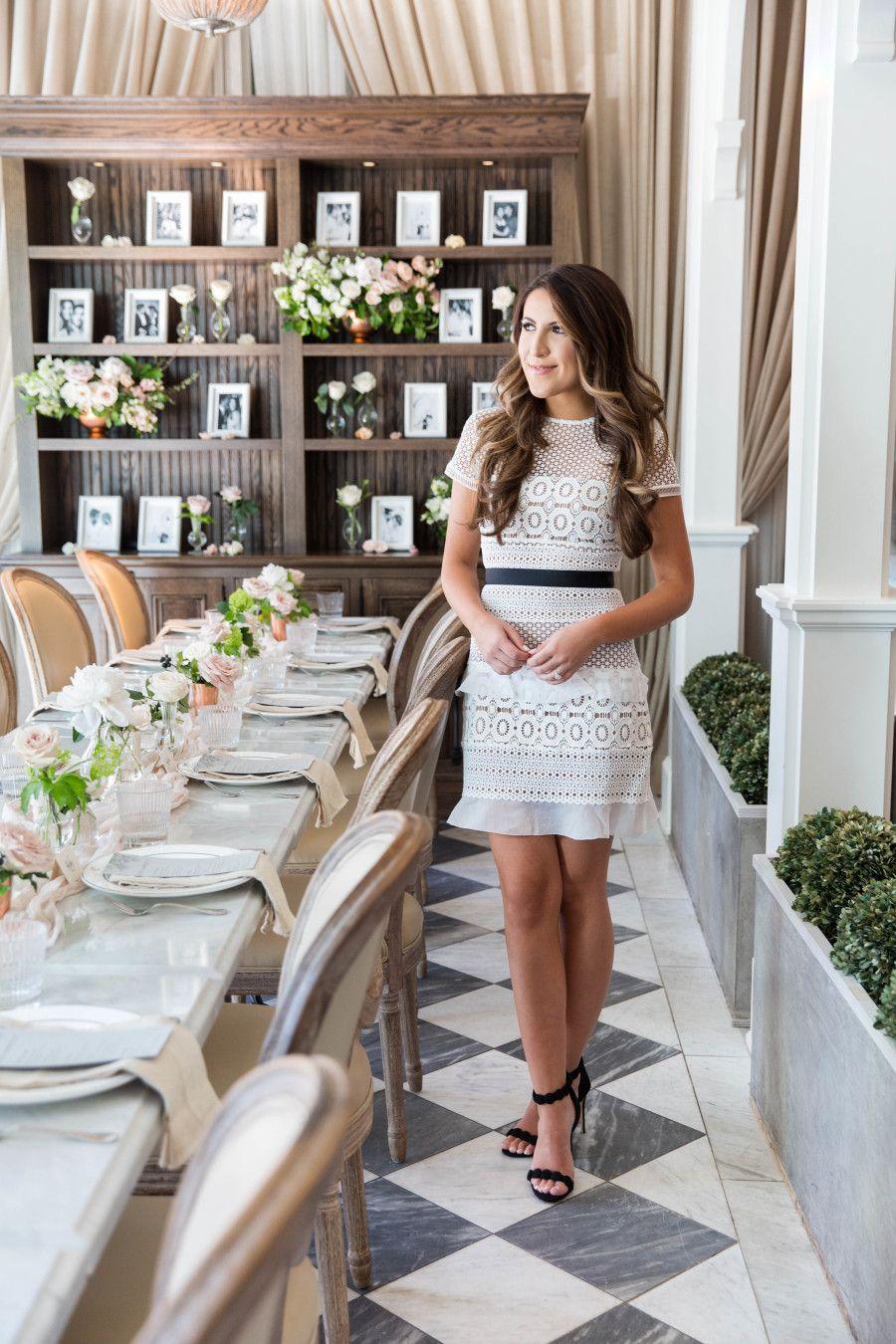 Peek Inside a Fashion Blogger's Bridal Shower Brunch