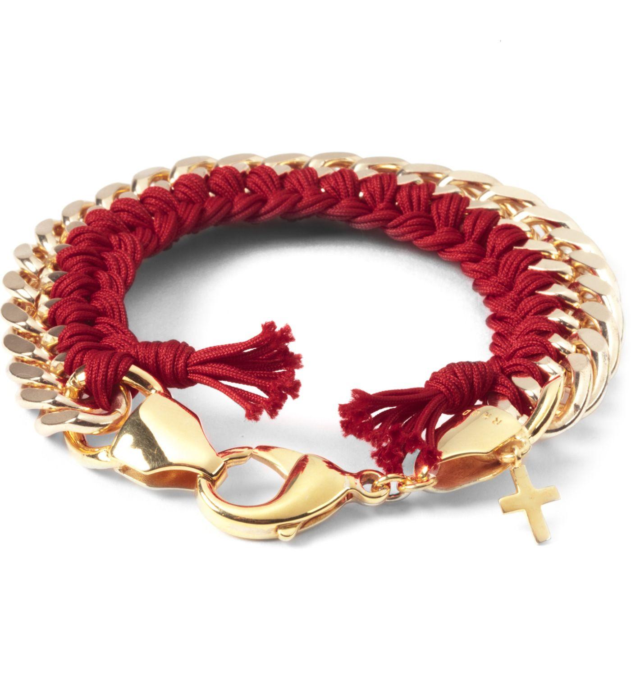 The Rhod Red Clic Woven Bracelet Hypebeast Online For Men S Fashion Streetwear Sneakers Accessories