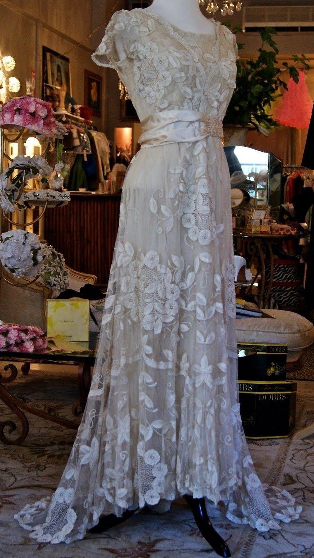 Edwardian womenus fashion lace dress pinterest edwardian era