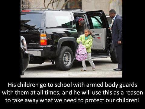 guns protect president | Ozzie Saffa: Obama signs law giving himself lifetime Secret Service ...