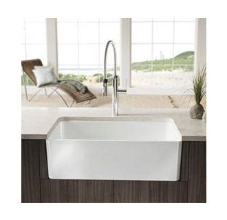 View The Blanco 518540 Cerana 30 Inch Farmhouse Kitchen Sink Apron Front Fireclay  Sink
