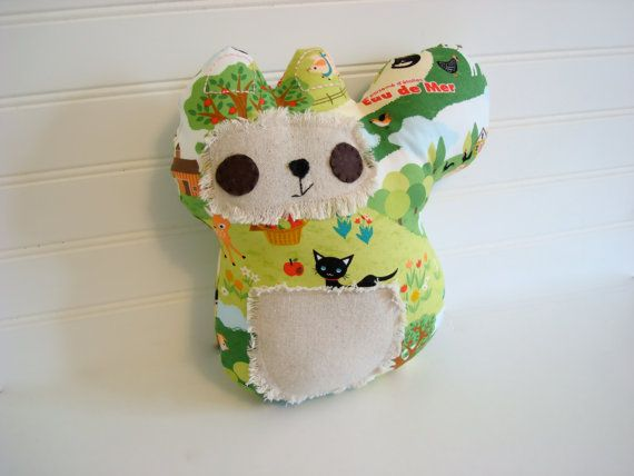 Stuffed squirrel pillow, Woodland Squirrel Plush Softie