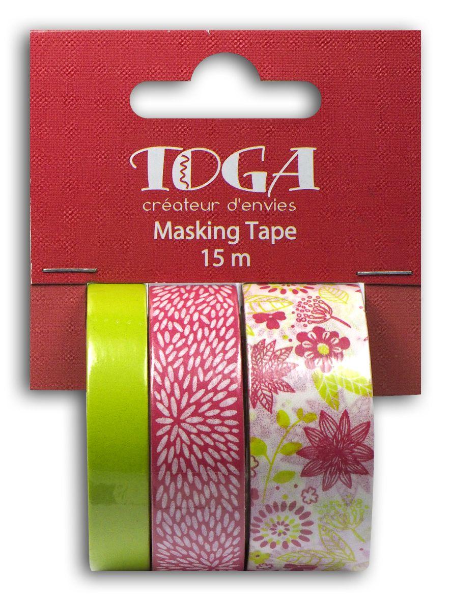 Masking tape de tres cintas Rosa y Verde   Cinta adhesiva, Cintas y ...