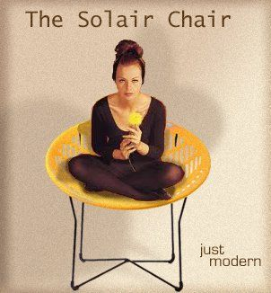 Vintage Solair Chair Ad.