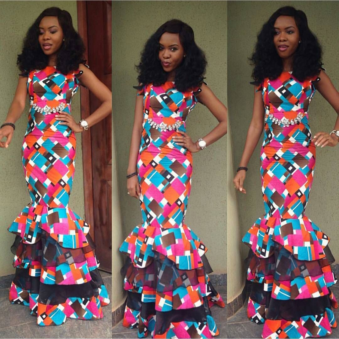 Fashion 2016 Latest Ankara Styles Lace Dress Nigerian Fashion Style Ankara Styles Latest