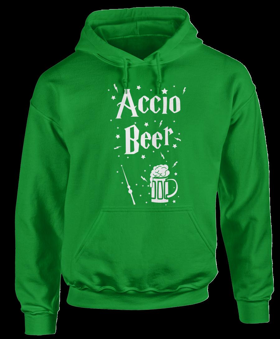 Accio Beer (Green) Witchcraft & Wizardry Hoodie #greenwitchcraft Accio Beer (Green) Witchcraft & Wizardry Hoodie #greenwitchcraft