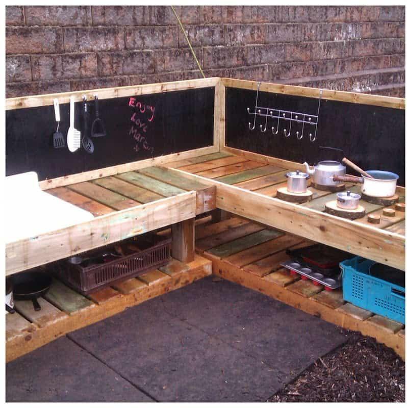 Mud Kitchen Ideas | How to Make a Mud Kitchen | DIY Garden ...