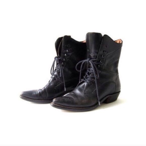 Tommy JeansSTUDS LACE UP BOOT - High heeled ankle boots - black bKC1izEyG