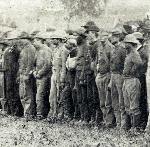 Mid war Confederate prisoners   Civil war history, Civil ...