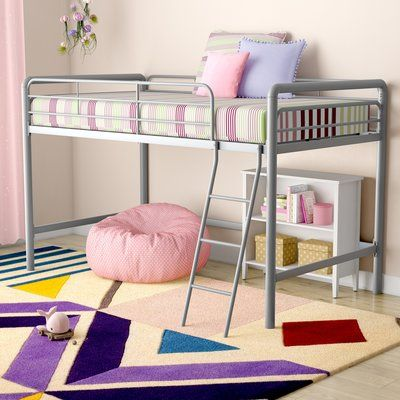 Maximillian Full Size Loft Bed Low Loft Beds Junior Loft Beds
