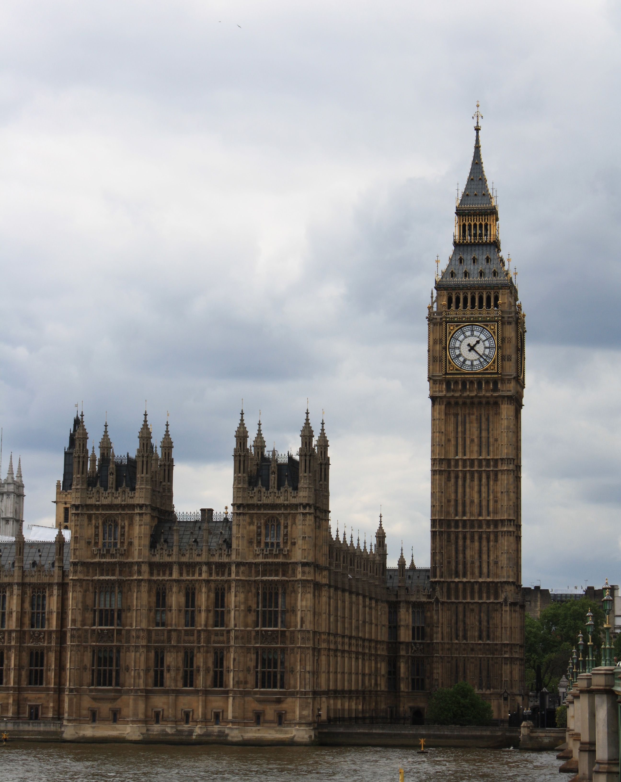 Big Ben Located In London Is The Nickname For The Great Bell Of