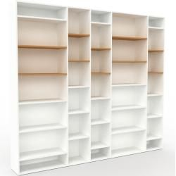 Photo of Wohnwand Weiß – Individuelle Designer-Regalwand: Hochwertige Qualität, einzigartiges Design – 267 x