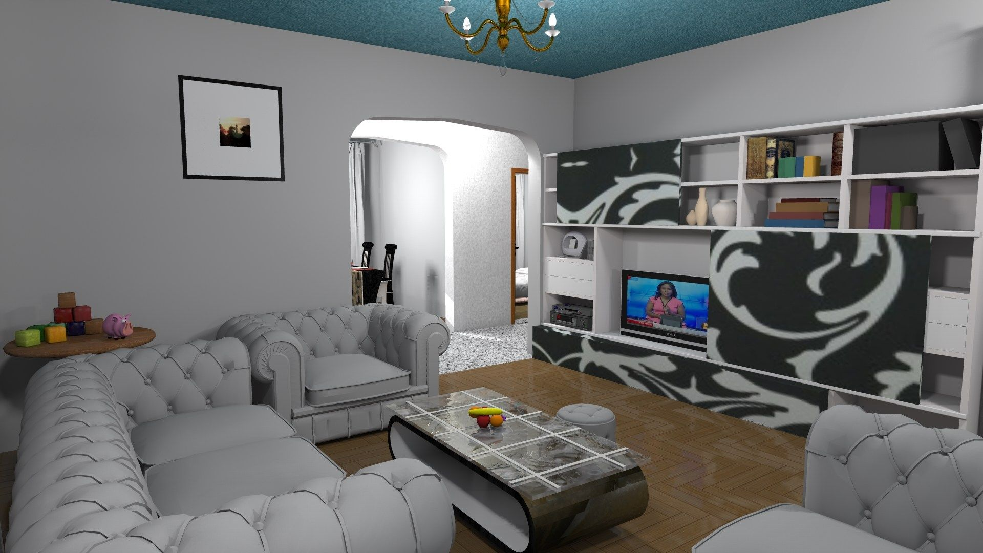 Three Bedroom Bungalow House Design In Kenya 3d Muthurwa Com In 2020 Bungalow House Design 4 Bedroom House Designs Three Bedroom House