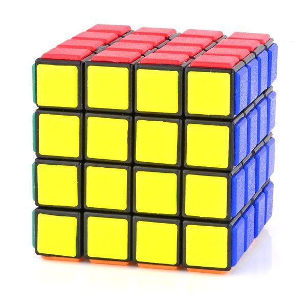 Lanlan Tiled 4x4x4 Puzzle Magic Cube Black Cube Componets Diy Kits Cubezz Com Professional Puzzle Store For Magic Cubes Rubik Rubiks Cube Puzzle Store Cube