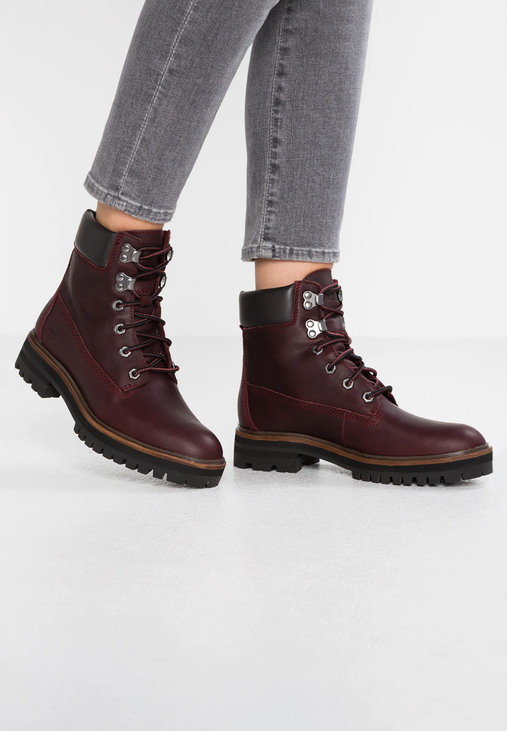 Elocuente diferencia Recuperar  Timberland LONDON SQUARE 6IN BOOT - Bottines à lacets - bordeaux - ZALANDO. FR | Boots, Timberland, Light boots