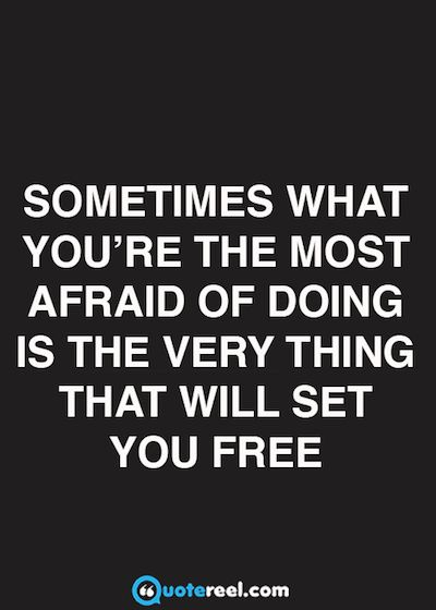 Free Quotes Inspirationalquotesaboutfear  Words  Pinterest  Inspirational