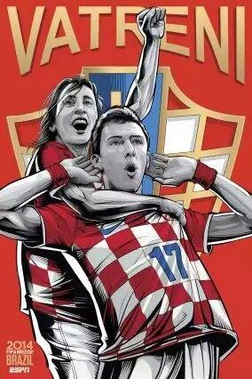 2014 FIFA World Cup International Posters « NUEVA CROACIA