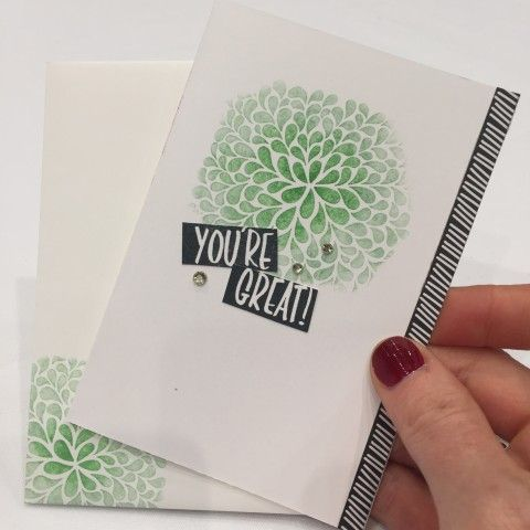 carolynbennie.com new Annual Stampin' Up! Catalogue 2016/16 - I Think You're Great stamp set