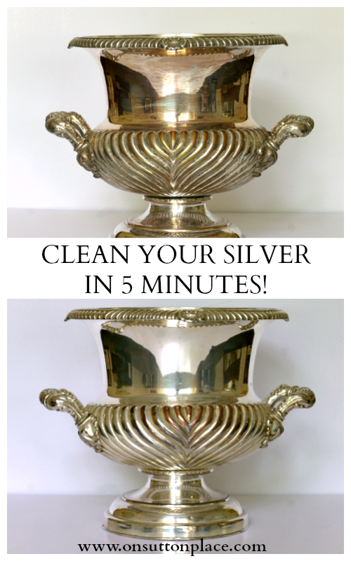 Best Way To Clean Silver All Natural And So Easy Using Foil Baking Soda Salt I Have Those In My Cabinet