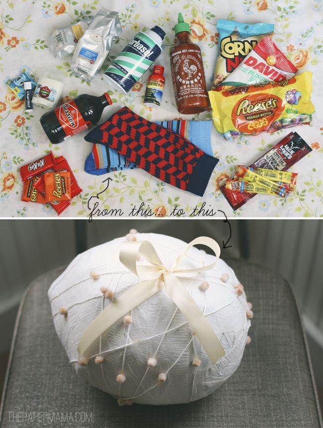 surprise ball for your dude diy http thepapermama com 2013 02