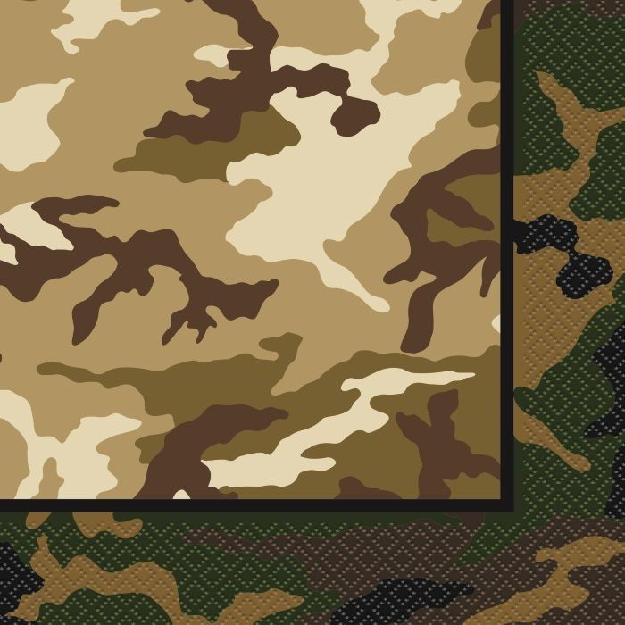 free printable camouflage birthday party invitations%0A Army Napkins   Army Camouflage Party Supplies   Army Birthday Party