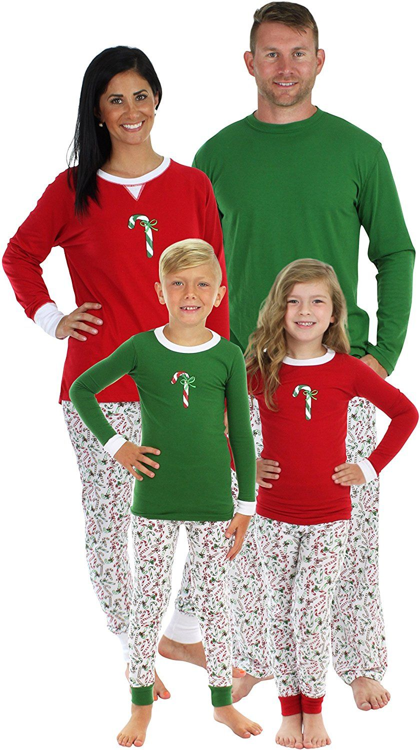 Sleepyheads Candy Cane Family Matching Pajama Set Kids