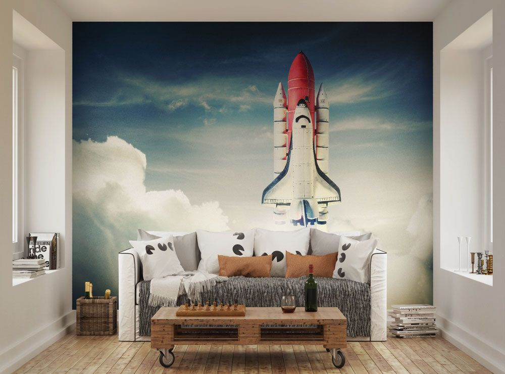 Ohpopsi Space Shuttle Taking Off Wall Mural Part 43