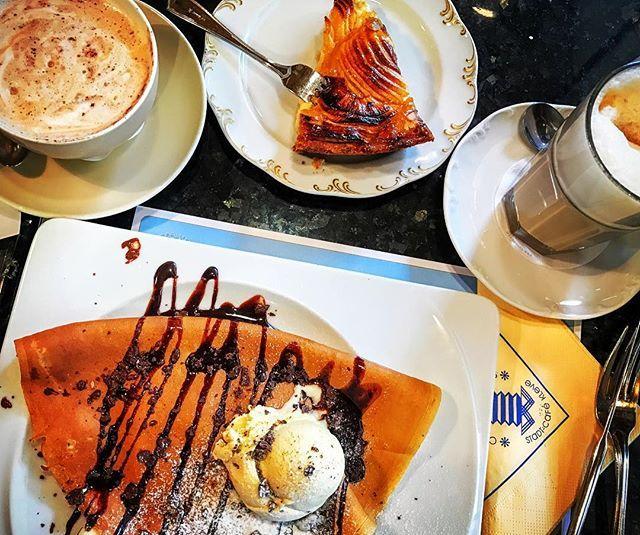 Kaffeeklatsch @ Kleve #kleve #foodporn #instacoffee #kaffeeklatsch #kaffeekuchen #instacrepes #konditorei  Yummery - best recipes. Follow Us! #foodporn