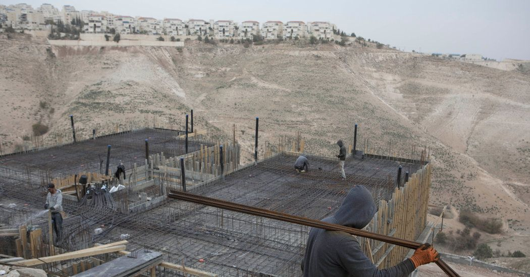 Israel Approves Another Wave of West Bank Settlement Construction - The New York Times Donations by Kushner family? Hmmm