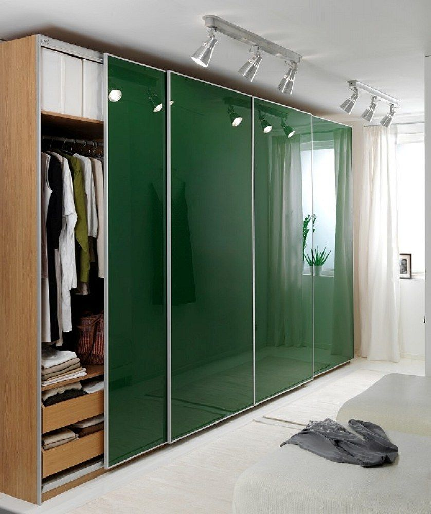 Ikea Sliding Ikea Sliding Glass Closet Doors Green Color
