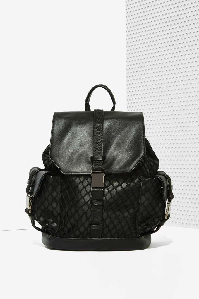 Nasty Gal x Nila Anthony Net Games Mesh Backpack | Shop Accessories at Nasty Gal!