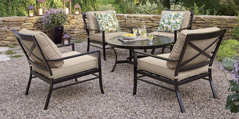 Outdoor Furniture Collections Dining And Lounge Crate And