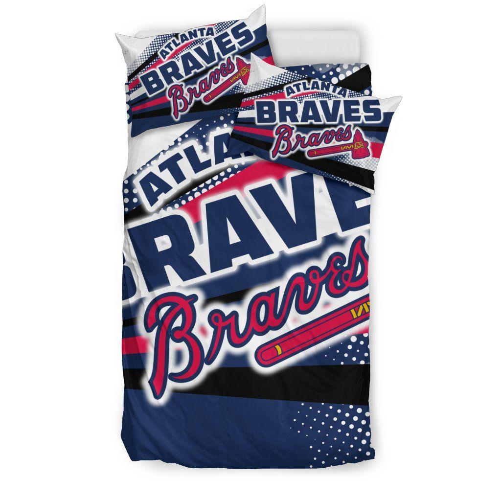 Colorful Shine Amazing Atlanta Braves Bedding Sets Atlanta Braves Atlanta Bedding Sets