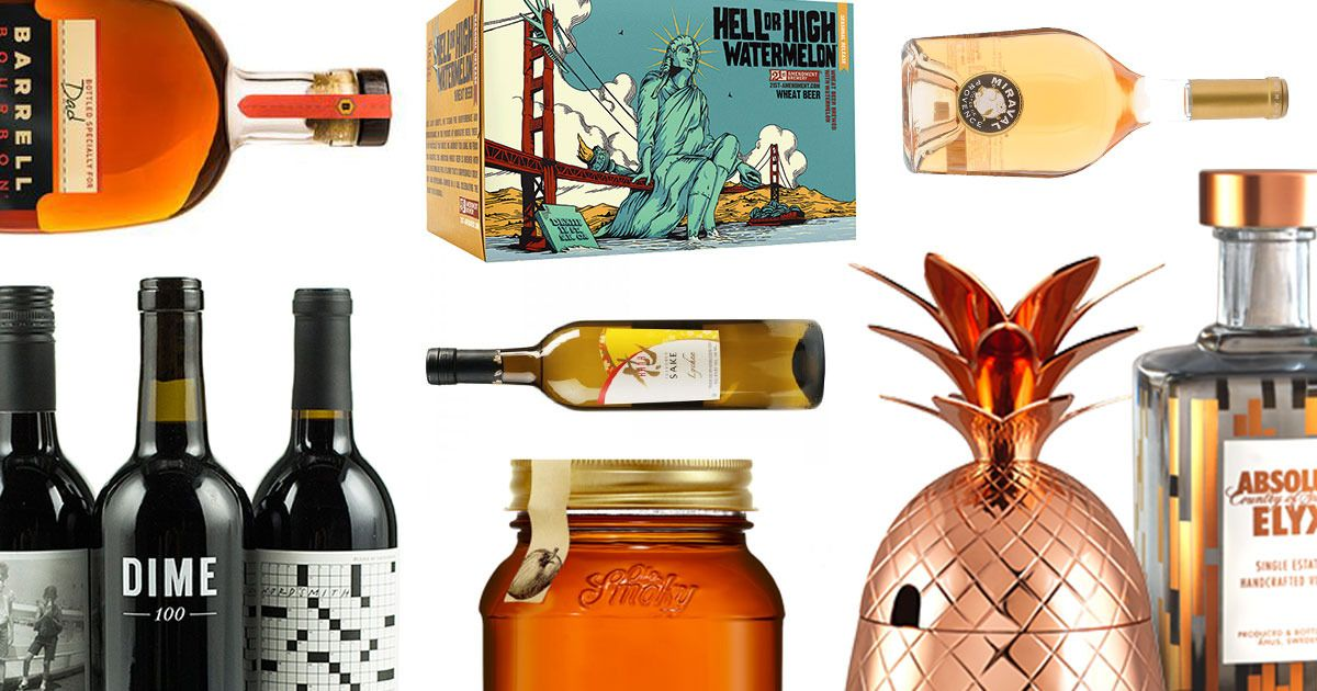 11 Bottles of Booze Your Dad Will Love  -- The Cut