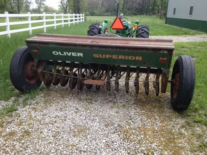 Oliver Superior Grain Drill Old Farm Equipment Farm Tractor