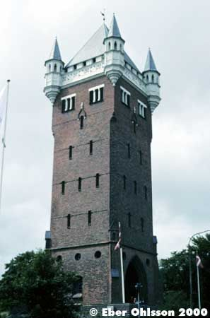 Wow - I didn't know before, we had so many beautiful old watertowers in Denmark:-) This you'll find in Esbjerg on the West Coast of Jutland.