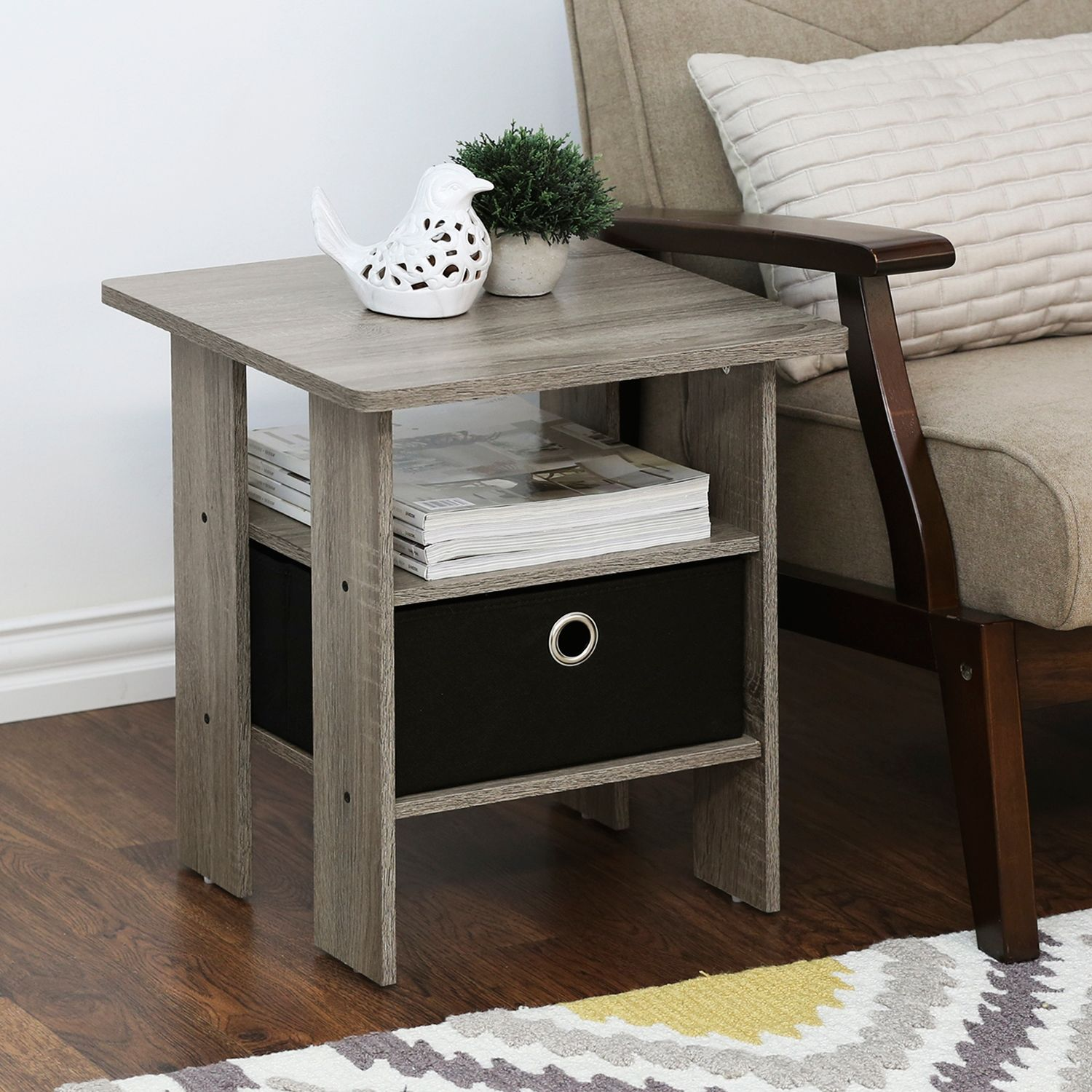 Andrey End Table With Bin Drawer Set Of 2 Ashley Furniture Homestore In 2021 End Tables With Storage Furniture End Tables [ 1500 x 1500 Pixel ]