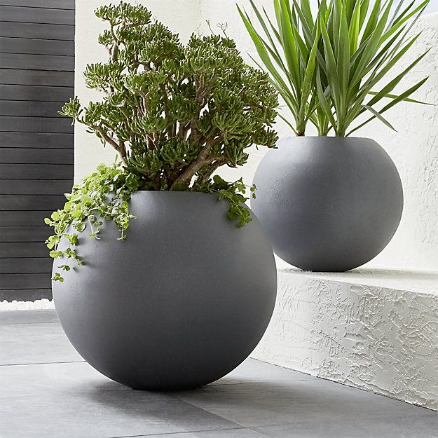 Shop Large Ball Planter Earth Friendly Globe Planter Does A World