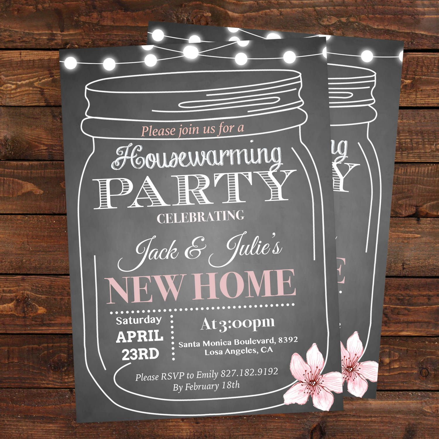 Housewarming party invitations template - Housewarming bbq party ...