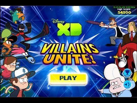 disney xd villains unite agent p cartoon animation disney movie game pla - Childrens Games Free Disney