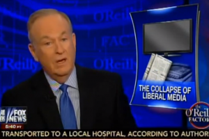 Bill O'Reilly subtly responds to criticism by bragging about own ratings