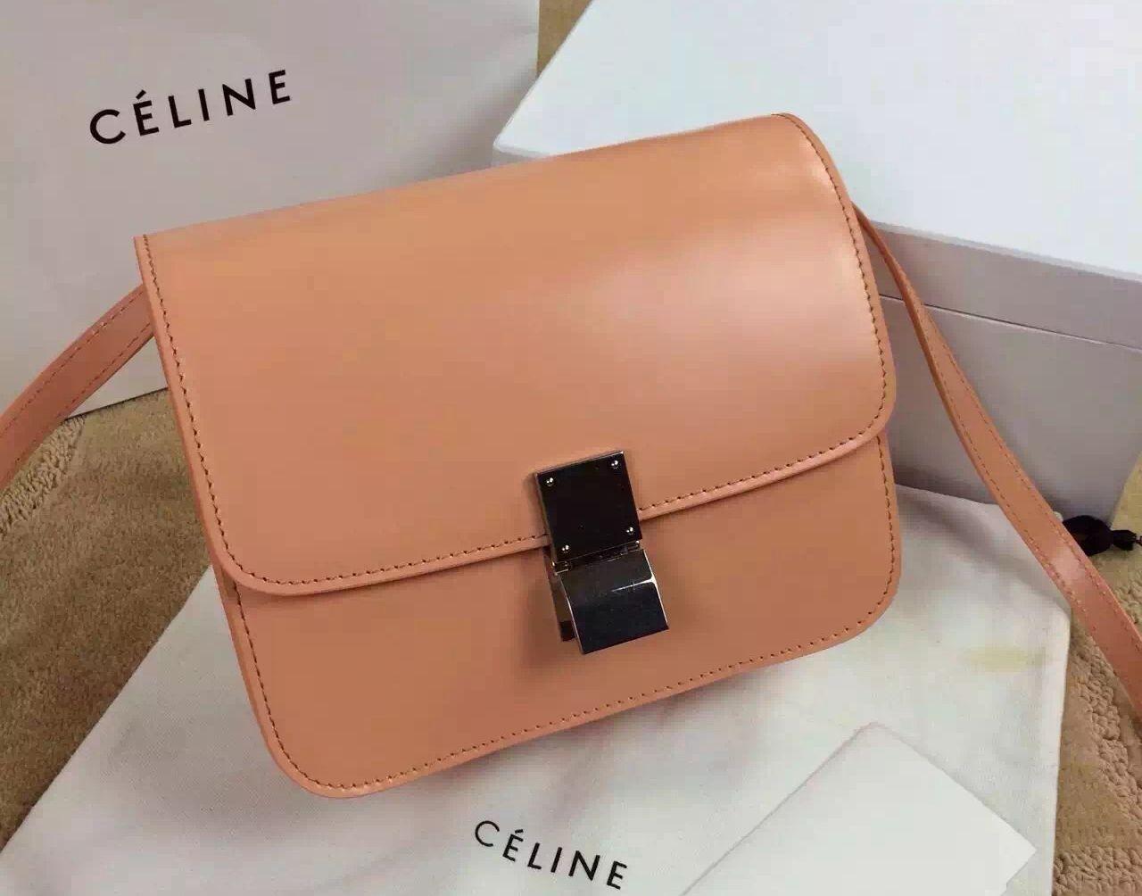 74201f8bf3 Celine Classic Medium Box Bag 100% Authentic 80% Off