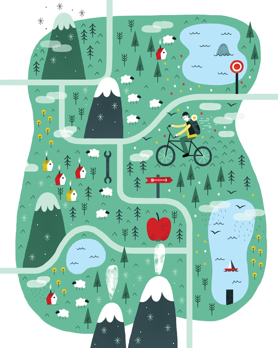 """Check out this @Behance project: """"Map"""" https://www.behance.net/gallery/31416047/Map"""