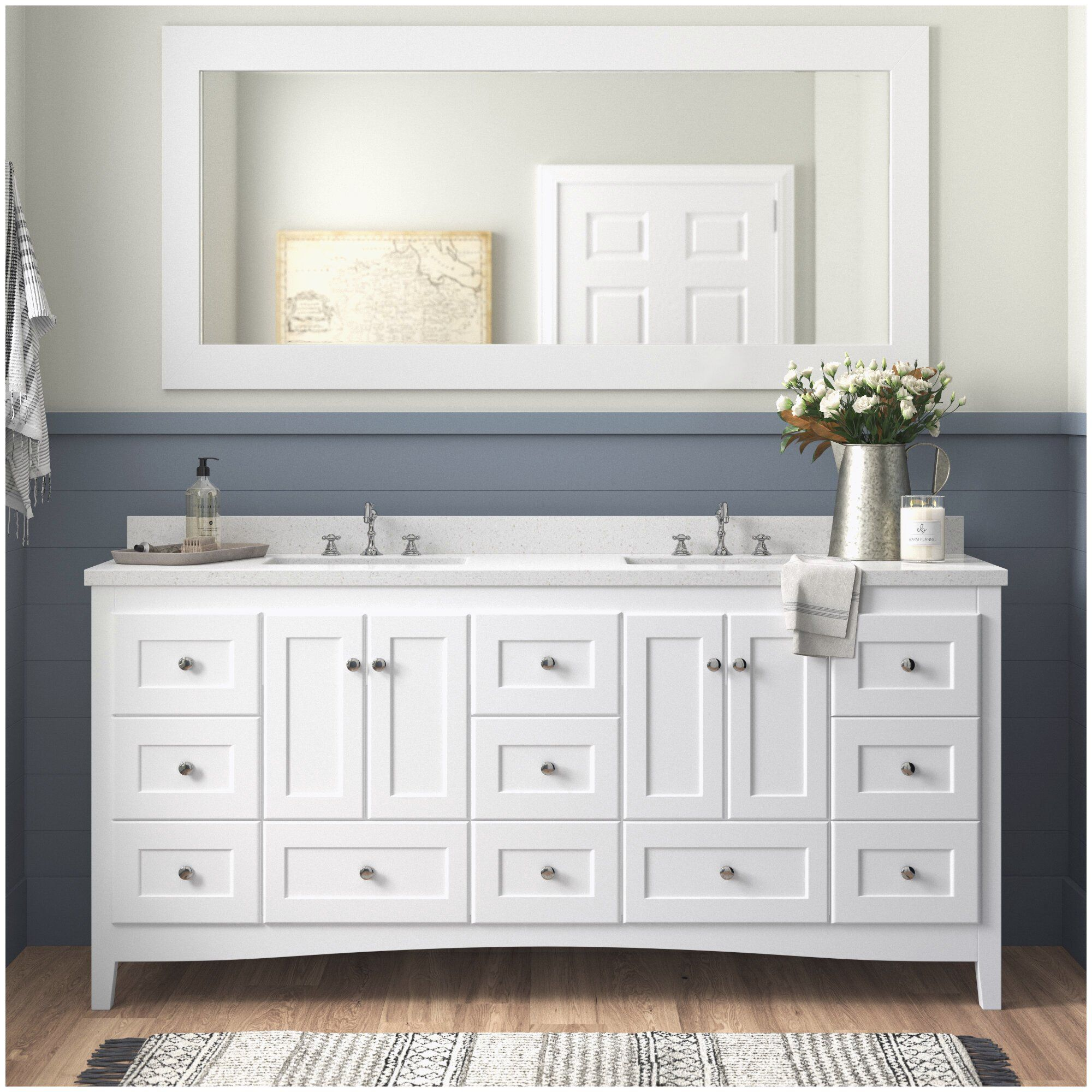 Abbey 72 Double Bathroom Vanity Set Cheap Bathroom Vanities With Sink Of Bathroom Vanities In 2020 Double Vanity Bathroom Cheap Bathroom Vanities Bathroom Sink Vanity