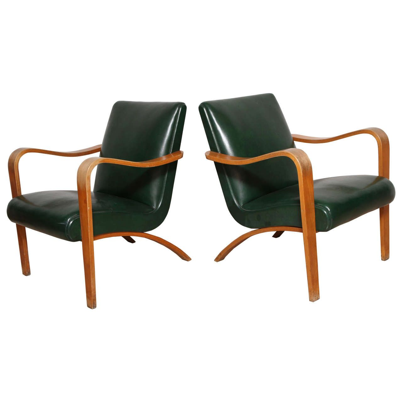 Enjoyable Pair Of 1940S Thonet Bentwood Lounge Chairs Furniture Gmtry Best Dining Table And Chair Ideas Images Gmtryco