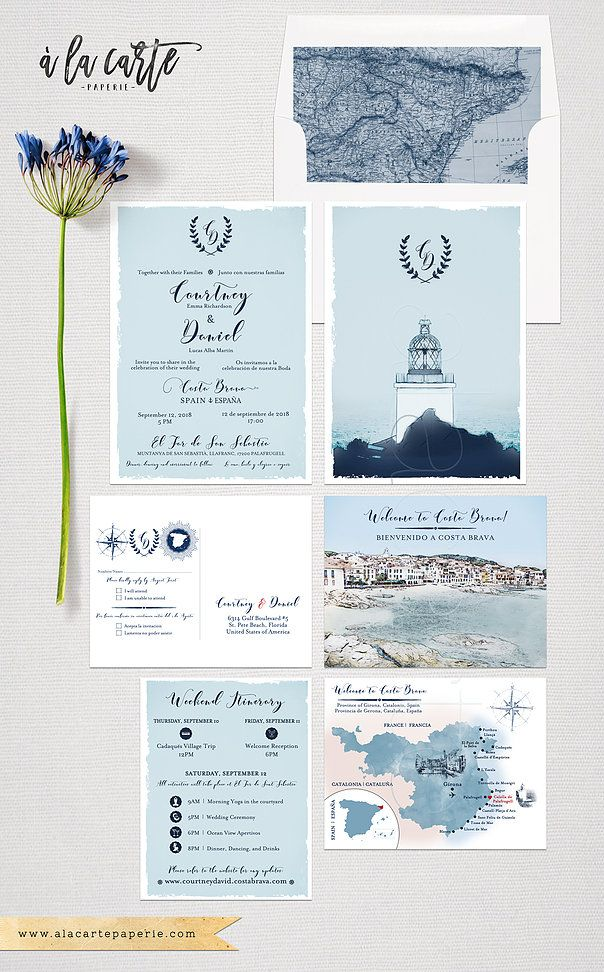 Costa Brava Spain Bilingual English Spanish Destination Wedding