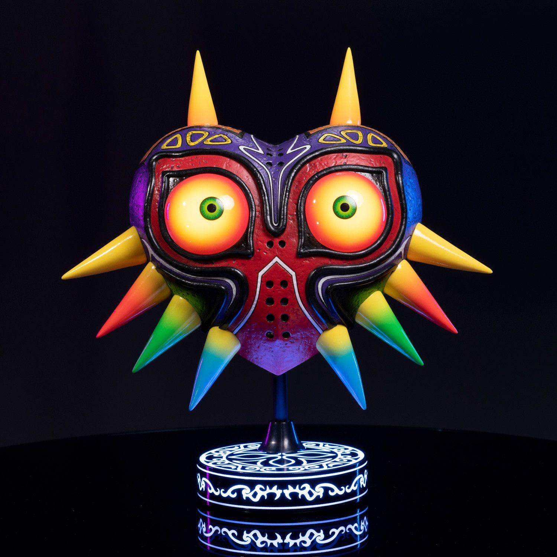 The Legend Of Zelda Majora S Mask 12 Pvc Collector S Edition In 2020 Legend Of Zelda Majoras Mask Vinyl Painted