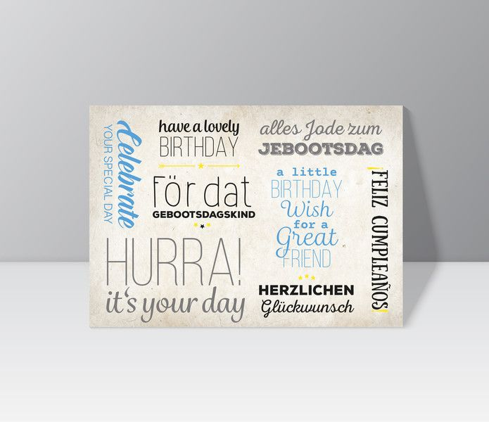 Postkarte \