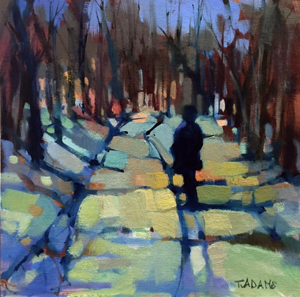 Fine watercolor art for sale -  A Walk In The Woods Original Fine Art By Trisha Adams