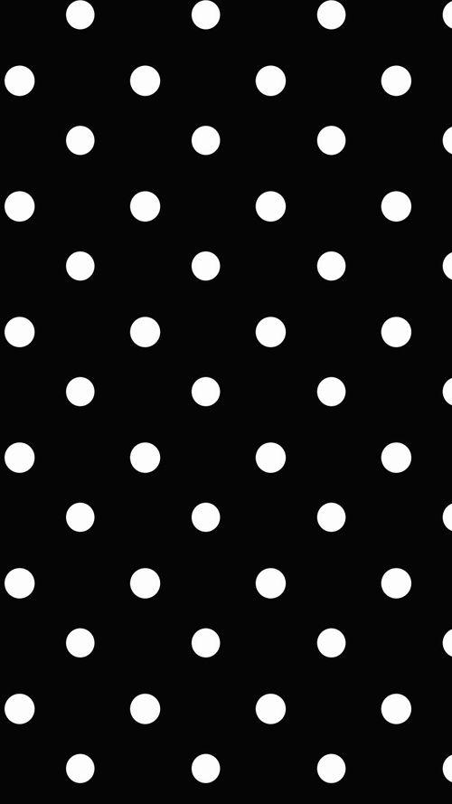 Panda Wallpaper And Black Image Polka Dots Wallpaper Dots Wallpaper Iphone Background Wallpaper